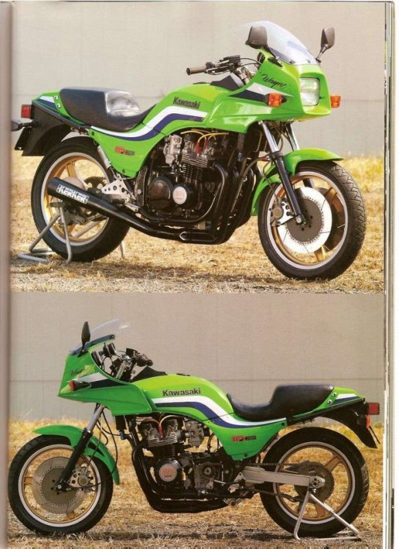 KAWASAKI 750 GPZ REPLICA DE WAYNE RAINEY.