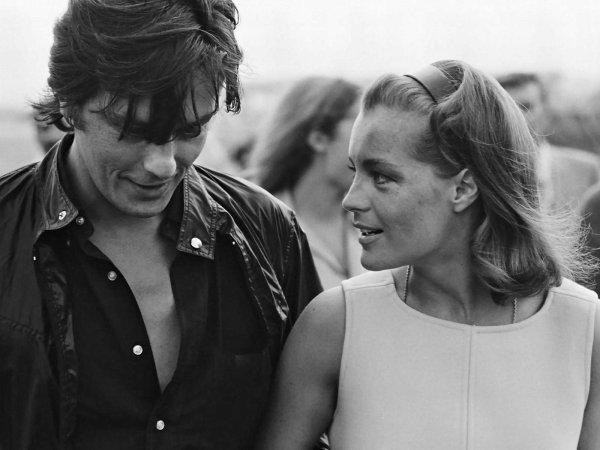 ALAIN DELON ET LA BELLE ROMY SCHNEIDER (été 1968)