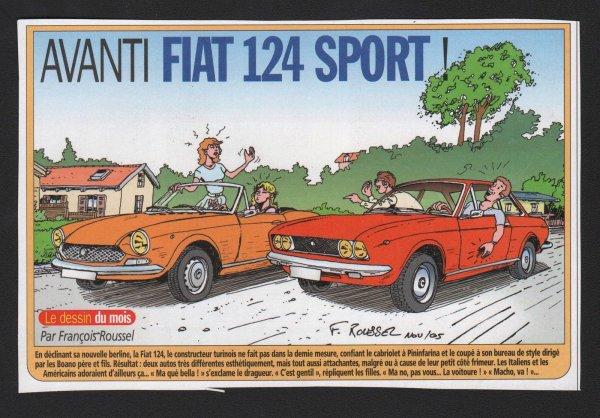 FIAT 124 SPIDER ET COUPé (PHASE 2)