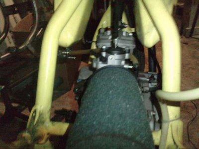 mon moteur  vue de derrière