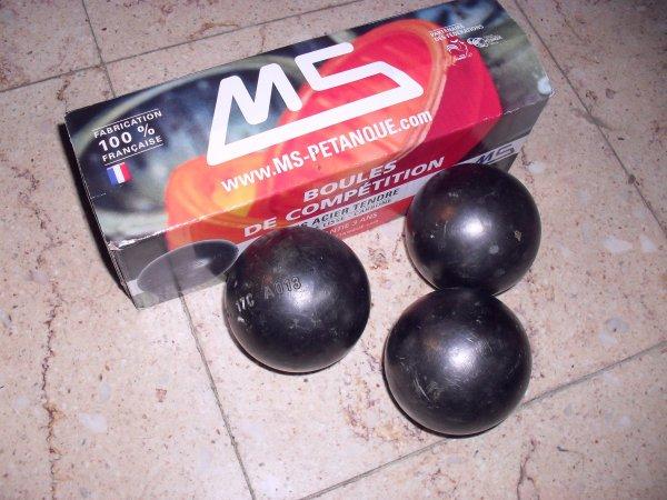 mes nouvelles boules sont arrivées