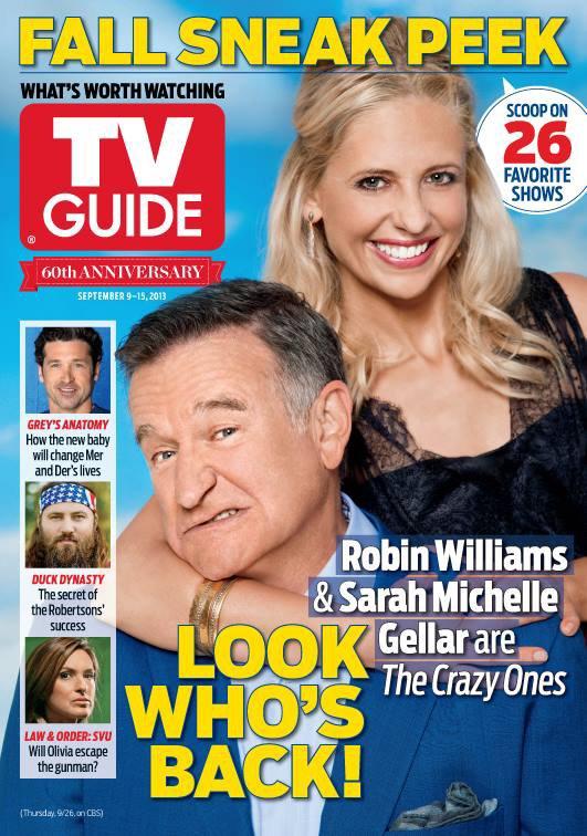 TV GUIDE MAGAZINE 2013 (USA) !