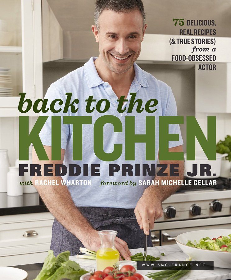 Back to the Kitchen, le livre de cuisine de Freddie !