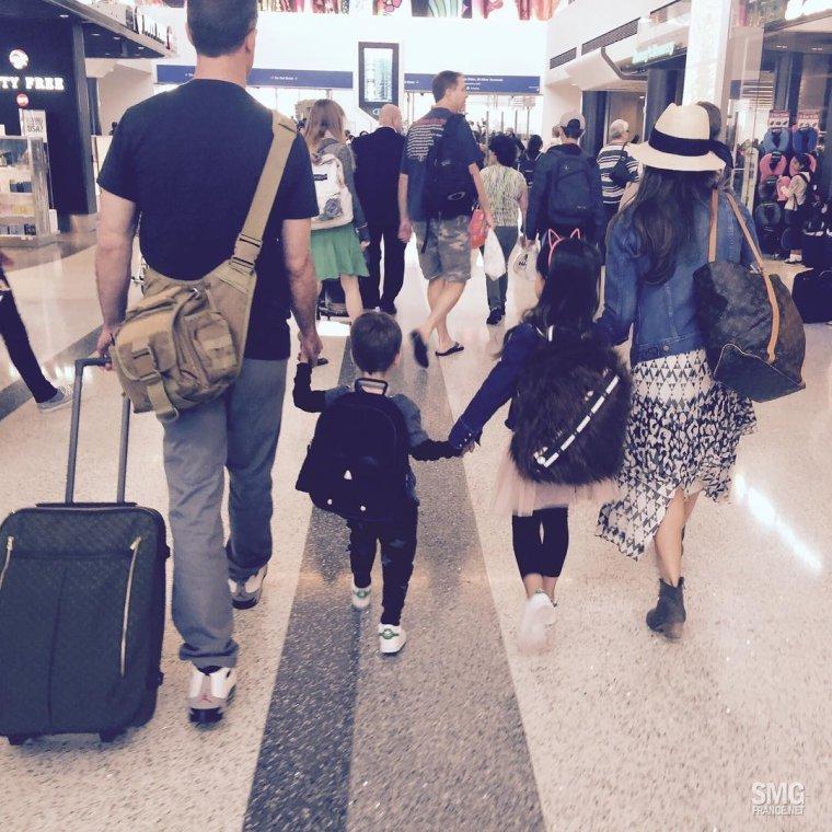 Joyeuse Fête des pères : La famille Prinze s'offre des vacances !!!!