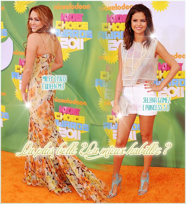 Miley VS Selena