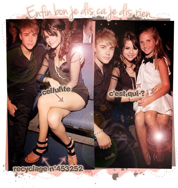 -Event- Le 13 juillet 2011, Selena & Justin étaient à la cérémonie des Espy Awards au Nokia Theatre, à -Event_-Los Angeles. Côté tenue : Comme vous pouvez le voir, Selena re-fait du recyclage car elle -Event_-porte les mêmes chaussures qu'elle avait lors de l'évènement organisé par Britney Spears en -Event_-Mai dernier. Sinon sa robe courte a l'air hyper belle, hâte de voir plus de photos sur le -Event_-tapis rouge par exemple <3 un TOP ! Votre avis ?