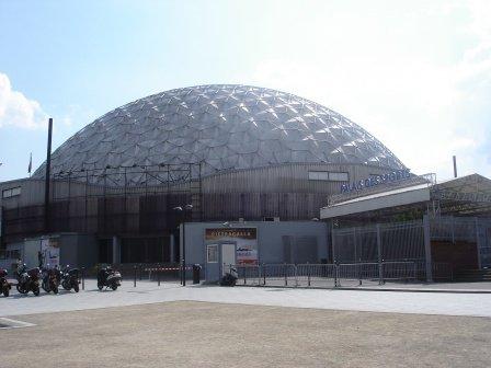 Explosion accidentelle au palais des sports de paris - Porte de versailles palais des sports ...