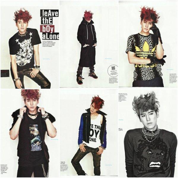 Kyuhyun pour le magazine NYLON Korea