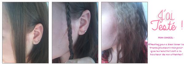 Faire une coiffure gauffrée rapidement