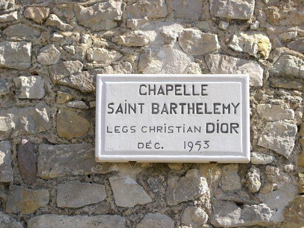 Chapelle St Barthélemy