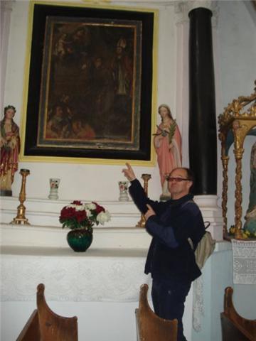 L'église Saint-Antoine de la Transfiguration.