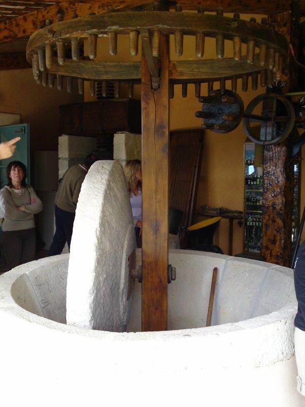 Moulin à huile XVIII siècle