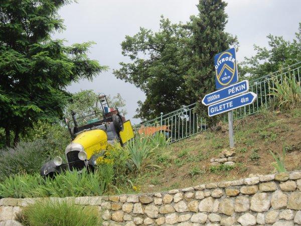 **********BALADE - PATRIMOINE : GILETTE LE 20 / 06 / 2010**********