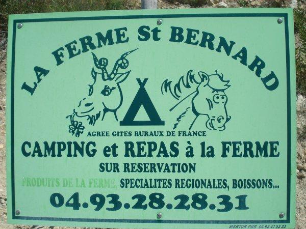 "Déjeuner provençal à la ""Ferme St Bernard"""