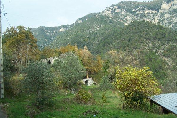 En route vers les vestiges du moulin à farine
