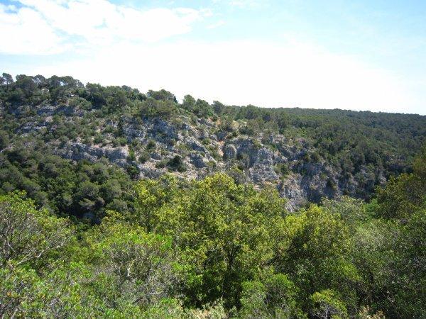 Vestiges d'un camp protohistorique (âge du fer - 800 ans avant JC)