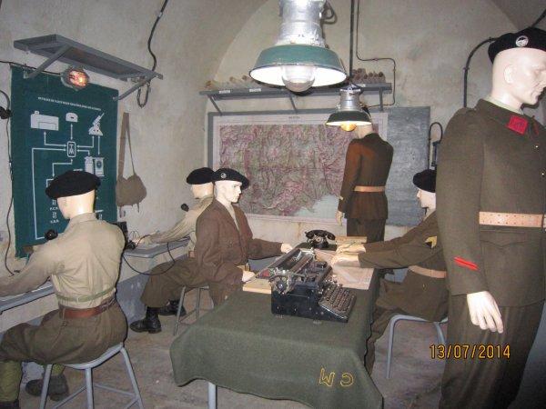 Fort St Roch et musée de la ligne Magino alpine