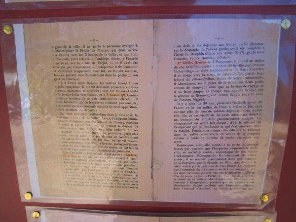 """Reçu par l' """"Amicale Bicentenaire Plateau Napoléon"""""""