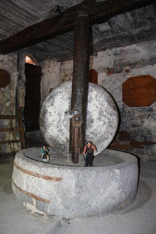 Moulin à huile de noix