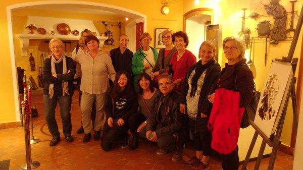 Isabelle, Nicole, Monique, Martine, Mandarine, Bernadette, Hélène, Julie, Nicole, Domi, Coco et Jocelyne.