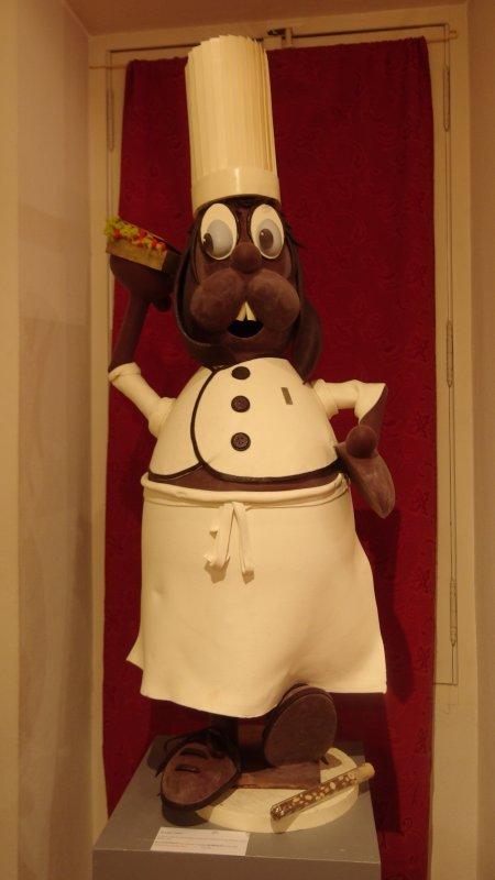 Dès l'entrée, une bonne odeur de chocolat