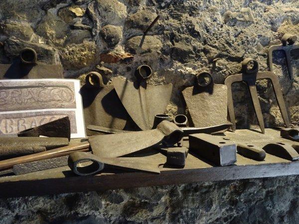 L'atelier du martinet : Le moulin à fer