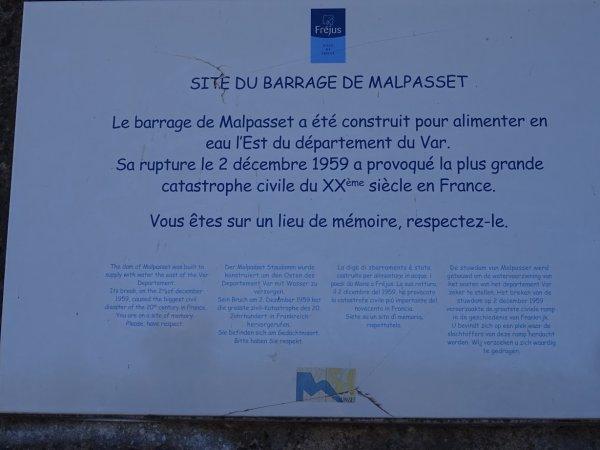 Barrage Malpasset, triste nom...
