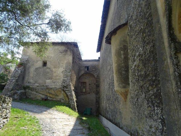 En route vers la chapelle Ste Croix