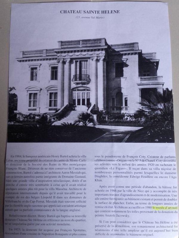 Château Sainte-Hélène -Musée d'art Naïf