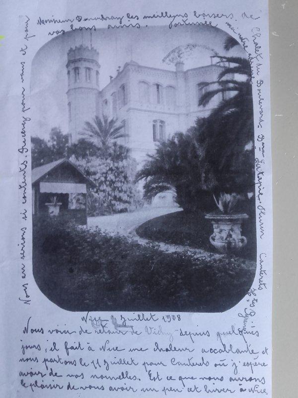 Château de Fabron, actuel parc Carol de Roumanie