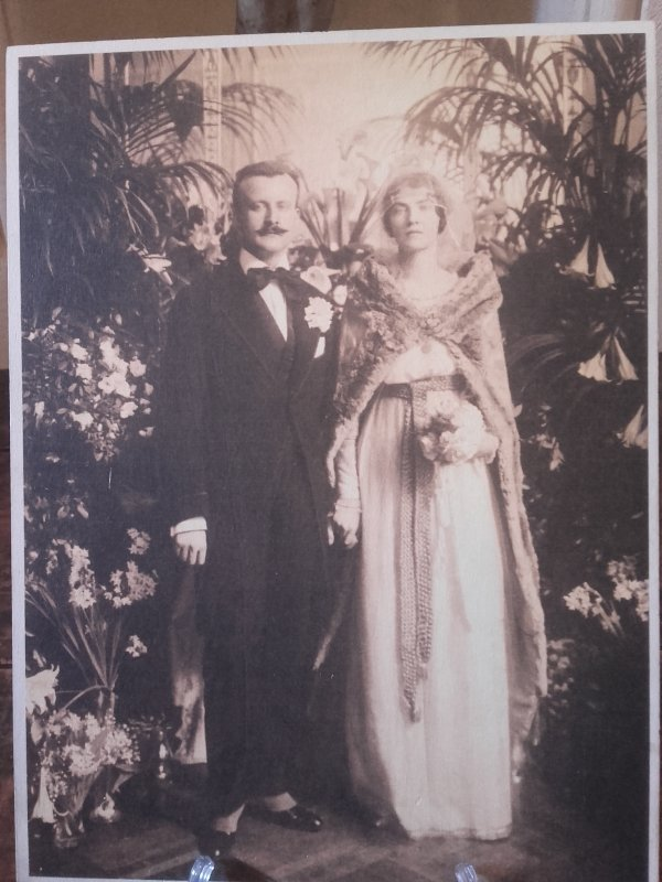 Henri et Marie Clews