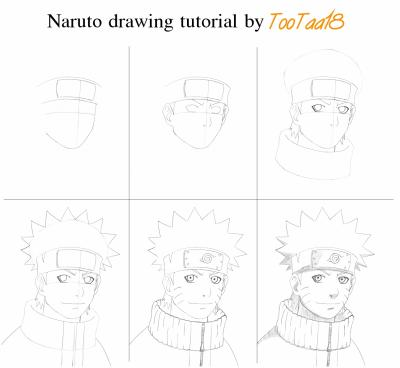 Souvent Tutorial Dessin Naruto - Blog de mangakas CJ41
