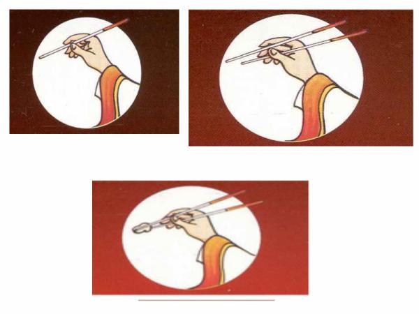 Comment tenir des baguetes japonaise blog de mangakas - Comment tenir des baguettes chinoises ...