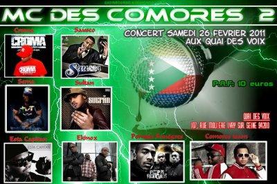 SAUSCO au Quai des voix(Ivry Sur Seine-94) au MC des Comores Volume 2 le 26 fevrier 2011