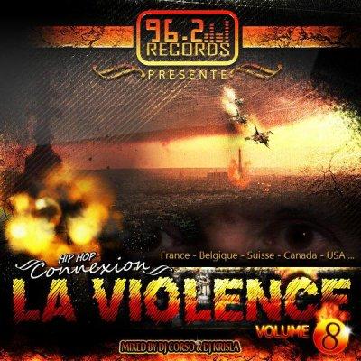 """Retrouvez Sausco dans la Net-Tape """"La Violence Volume  8"""" produit par 96.2 Records"""