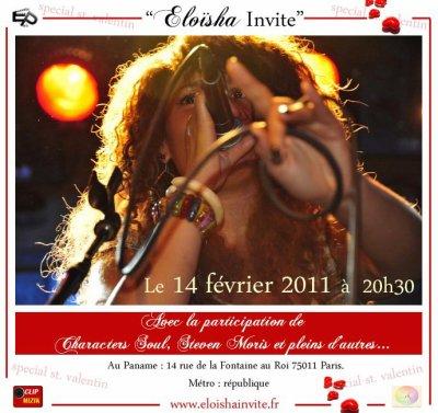 """SAUSCO invité de l'emission """"Eloisha invite"""" au café-théâtre """"Le Paname"""""""