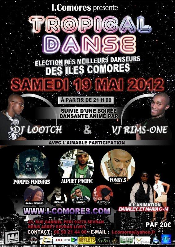 SAUSCO  en concert le 19 Mai 2012 à Sevran (93)