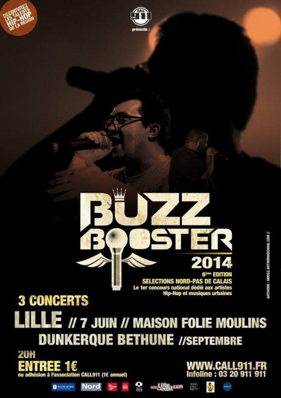 Sausco au BuzzBooster NDDC à la Maison folie Moulins à Lille le 7 juin 2014
