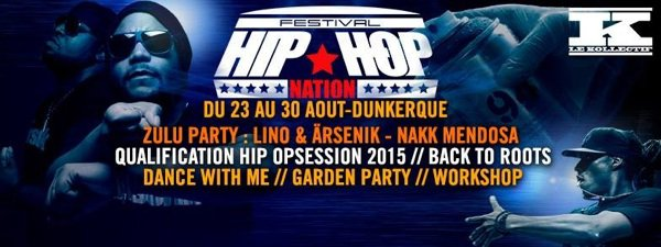 Sausco en concert au festival Hip Hop Nation