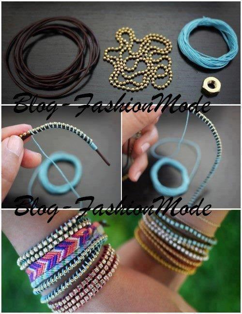 Fabrication de bracelets