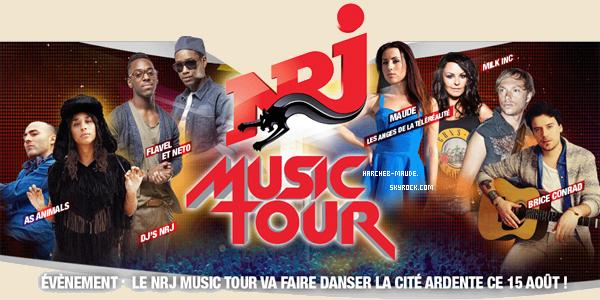 Nrj music tour | 15 août 2013 | Liège