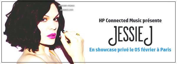 Concert privé Jessie J | 05 février 2015 | Paris