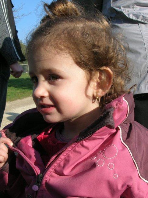 Manon a ses 2 ans