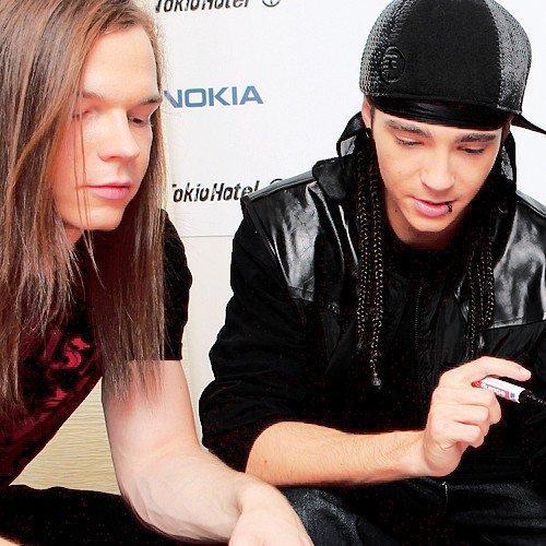 Les FansFictions sur Tom Kaulitz et Georg Listing