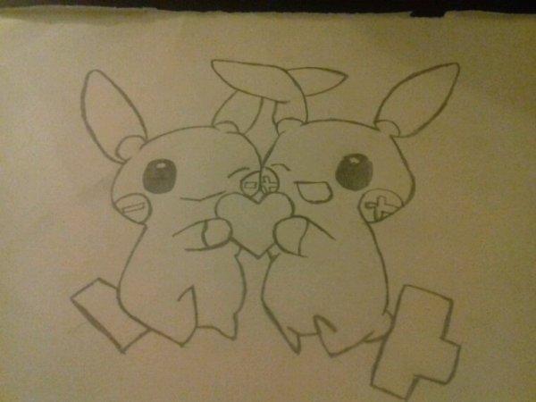 Pokemon  ( je sait plus les nom et je veut pas dire de bêtises >< )