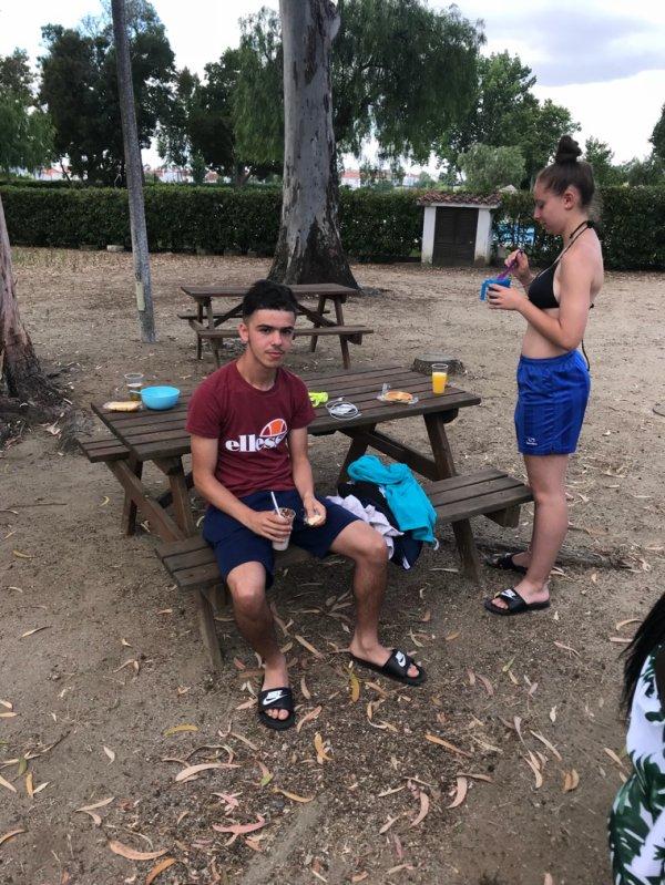 Petit déjeuner à Evora