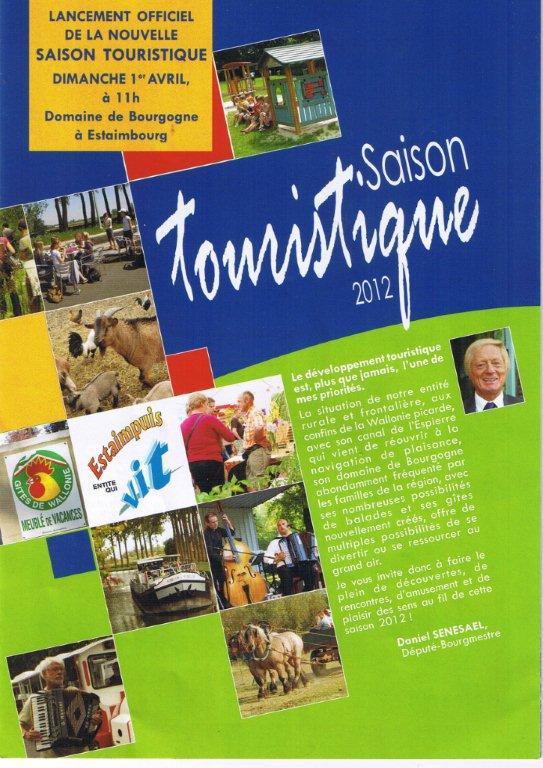 La saison touristique est lancée!