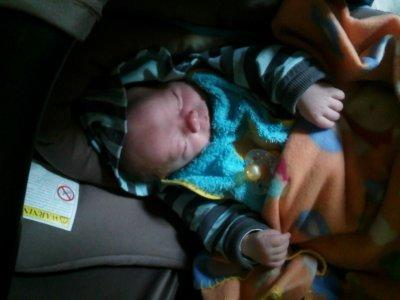 mon bébé qui dort