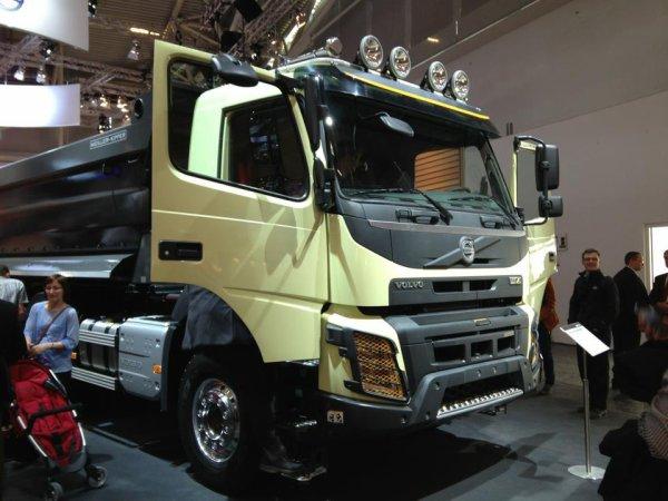 Nouveaux Volvo fmx
