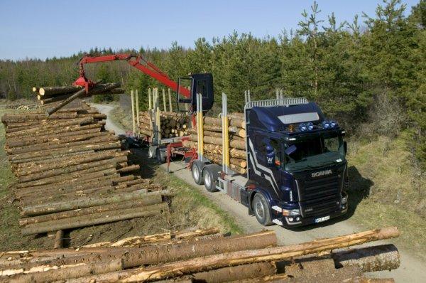 Scania v8 r580 6x4